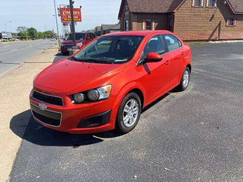2013 Chevrolet Sonic for sale at Approved Automotive Group in Terre Haute IN
