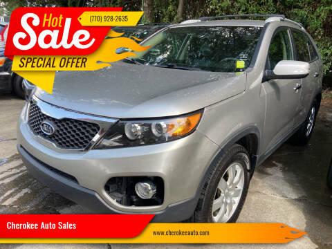 2013 Kia Sorento for sale at Cherokee Auto Sales in Acworth GA