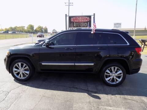 2013 Jeep Grand Cherokee for sale at MYLENBUSCH AUTO SOURCE in O` Fallon MO