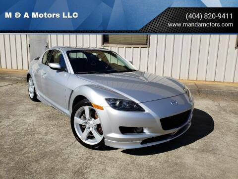 2004 Mazda RX-8 for sale at M & A Motors LLC in Marietta GA