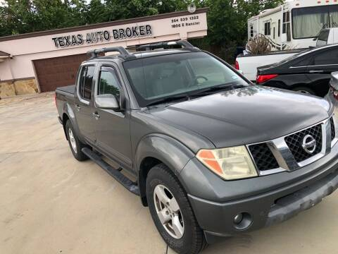 2005 Nissan Frontier for sale at Texas Auto Broker in Killeen TX