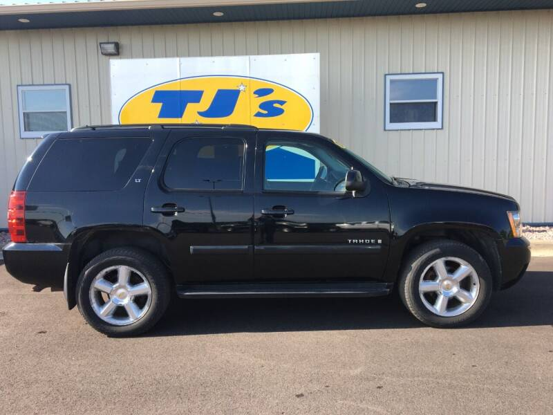 2008 Chevrolet Tahoe for sale at TJ's Auto in Wisconsin Rapids WI