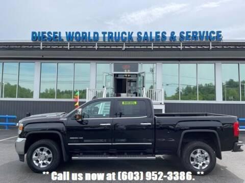 2017 GMC Sierra 3500HD for sale at Diesel World Truck Sales in Plaistow NH