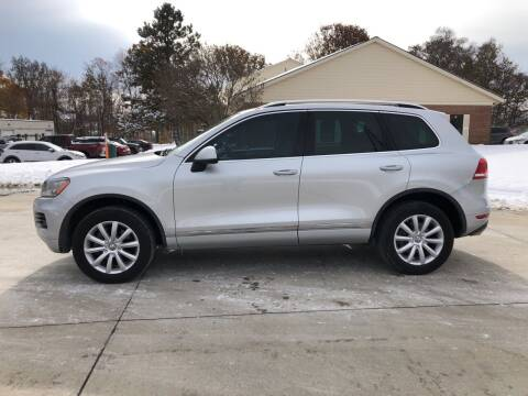 2012 Volkswagen Touareg for sale at Renaissance Auto Network in Warrensville Heights OH