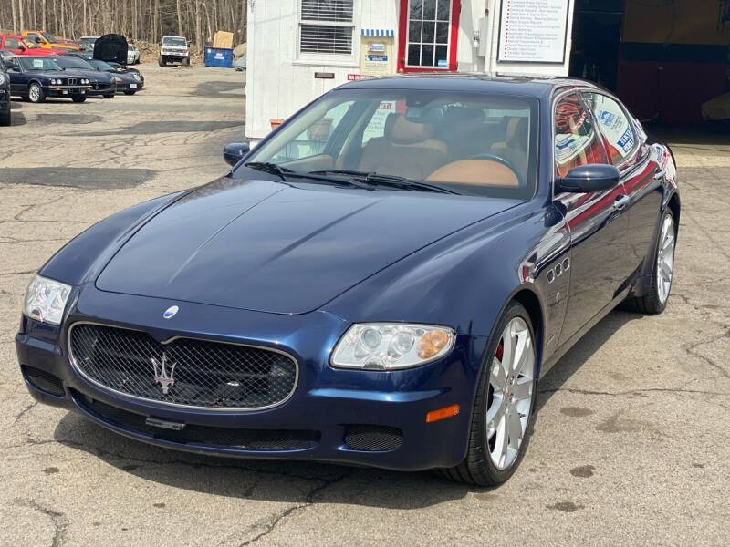 2008 Maserati Quattroporte for sale at Milford Automall Sales and Service in Bellingham MA