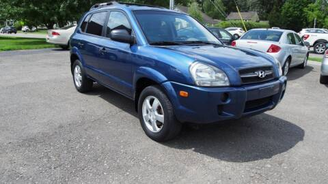 2008 Hyundai Tucson for sale at Just In Time Auto in Endicott NY