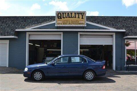 2005 Kia Optima for sale at Quality Pre-Owned Automotive in Cuba MO