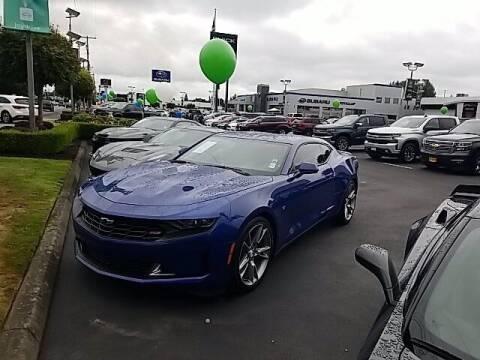 2019 Chevrolet Camaro for sale at Washington Auto Credit in Puyallup WA