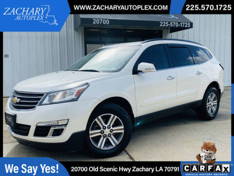 2015 Chevrolet Traverse for sale at Auto Group South in Natchez MS