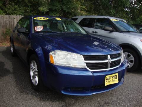 2008 Dodge Avenger for sale at Easy Ride Auto Sales Inc in Chester VA