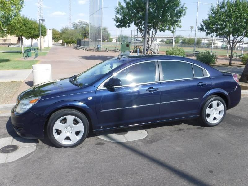 2008 Saturn Aura for sale at J & E Auto Sales in Phoenix AZ