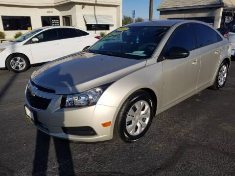 2014 Chevrolet Cruze for sale at Vin - Mar Auto in Victorville CA