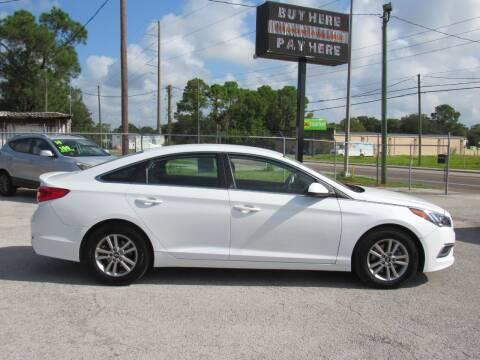 2017 Hyundai Sonata for sale at Checkered Flag Auto Sales EAST in Lakeland FL