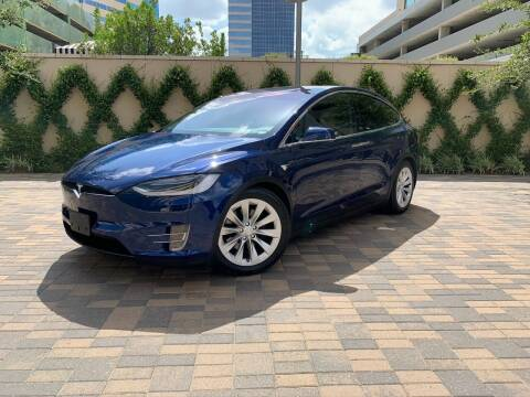 2016 Tesla Model X for sale at ROGERS MOTORCARS in Houston TX