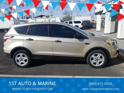 2017 Ford Escape for sale at 1ST AUTO & MARINE in Apache Junction AZ