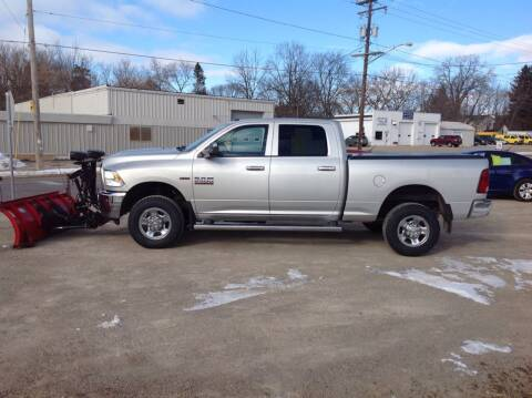 2013 RAM Ram Pickup 2500 for sale at Fridays Auto Deals LLC in Oshkosh WI