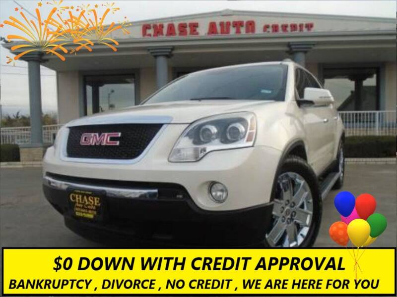 2010 GMC Acadia for sale at Chase Auto Credit in Oklahoma City OK