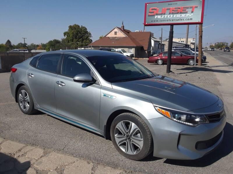 2018 Kia Optima Plug-In Hybrid for sale at Sunset Auto Body in Sunset UT
