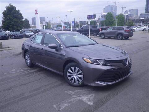 2020 Toyota Camry Hybrid for sale at BEAMAN TOYOTA GMC BUICK in Nashville TN