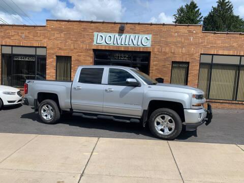 2018 Chevrolet Silverado 1500 for sale at Dominic Sales LTD in Syracuse NY