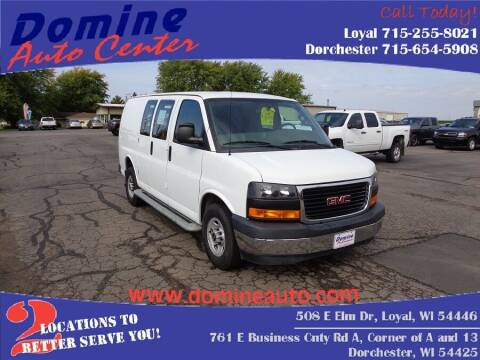 2017 GMC Savana Cargo for sale at Domine Auto Center - commercial vehicles in Loyal WI