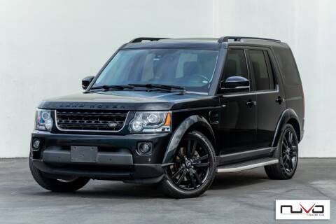 2015 Land Rover LR4 for sale at Nuvo Trade in Newport Beach CA