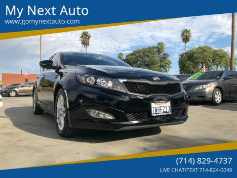 2013 Kia Optima for sale at My Next Auto in Anaheim CA