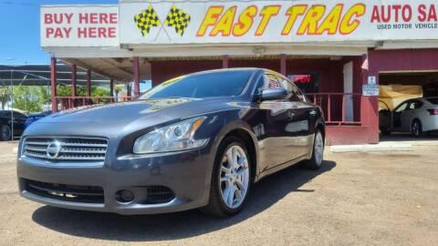 2010 Nissan Maxima for sale at Fast Trac Auto Sales in Phoenix AZ