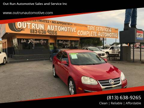 2008 Volkswagen Jetta for sale at Out Run Automotive Sales and Service Inc in Tampa FL