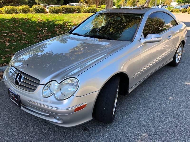 2003 Mercedes-Benz CLK for sale at Donada  Group Inc in Arleta CA