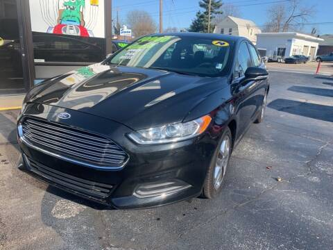 2014 Ford Fusion for sale at Superior Automotive Group in Owensboro KY