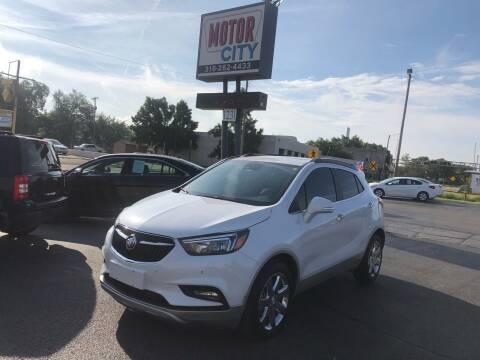 2017 Buick Encore for sale at Motor City Sales in Wichita KS