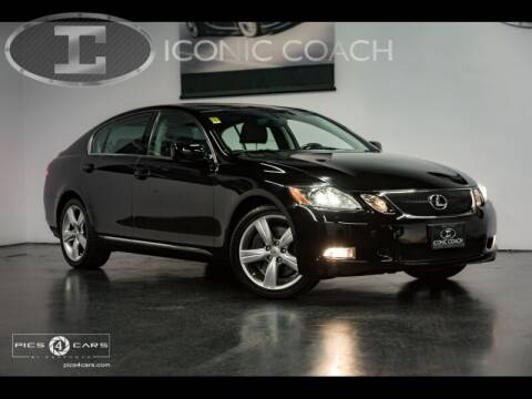 2007 Lexus GS 350 for sale at Iconic Coach in San Diego CA