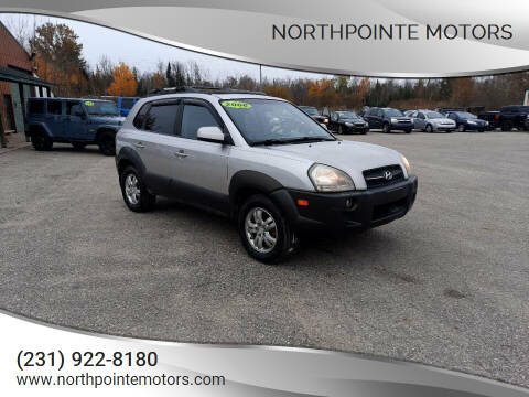 2006 Hyundai Tucson for sale at Northpointe Motors in Kalkaska MI
