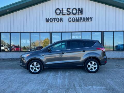 2015 Ford Escape for sale at Olson Motor Company in Morris MN