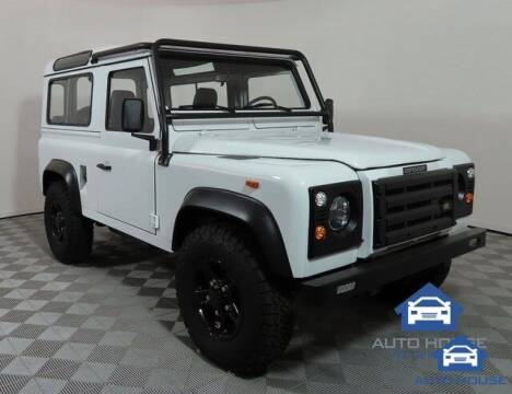 1991 Land Rover Defender for sale at Autos by Jeff Scottsdale in Scottsdale AZ