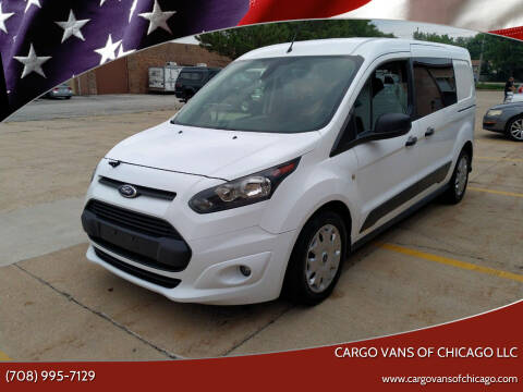 2015 Ford Transit Connect Cargo for sale at Cargo Vans of Chicago LLC in Mokena IL