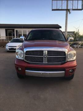 2007 Dodge Ram Pickup 1500 for sale at Zoom Auto Sales in Oklahoma City OK