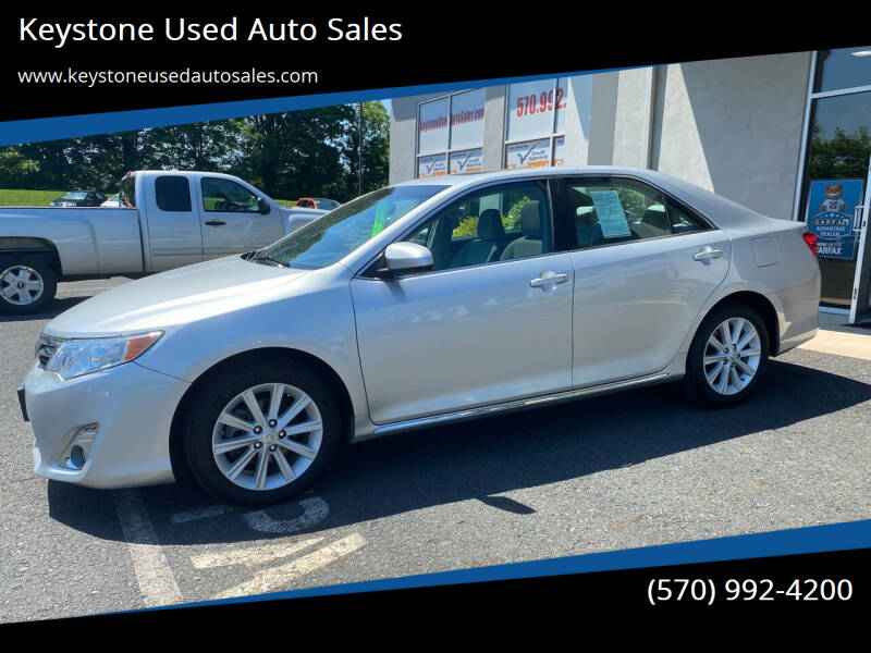 2012 Toyota Camry for sale at Keystone Used Auto Sales in Brodheadsville PA