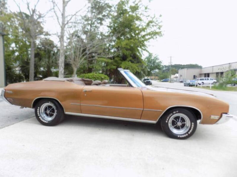 1972 Buick Skylark for sale at Hines Auto Sales in Marlette MI