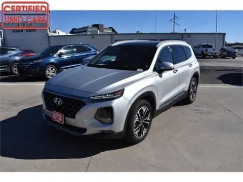 2020 Hyundai Santa Fe for sale at South Plains Autoplex by RANDY BUCHANAN in Lubbock TX