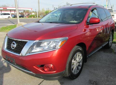 2016 Nissan Pathfinder for sale at Express Auto Sales in Lexington KY