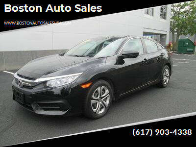 2018 Honda Civic for sale at Boston Auto Sales in Brighton MA