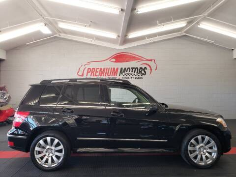 2012 Mercedes-Benz GLK for sale at Premium Motors in Villa Park IL