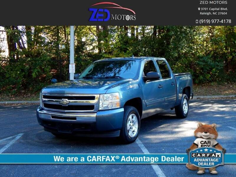 2009 Chevrolet Silverado 1500 for sale at Zed Motors in Raleigh NC