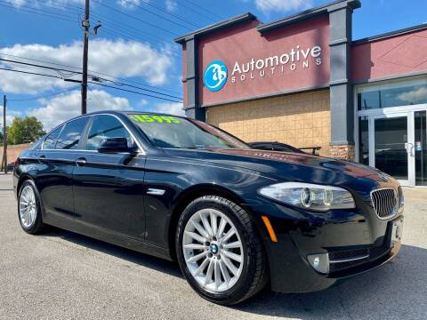 2012 BMW 5 Series for sale at Automotive Solutions in Louisville KY