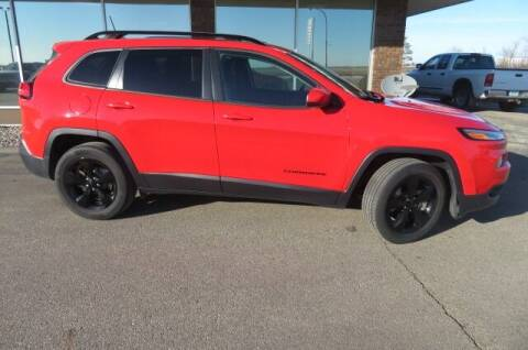2017 Jeep Cherokee for sale at DAKOTA CHRYSLER CENTER in Wahpeton ND