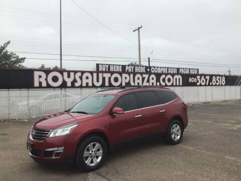 2014 Chevrolet Traverse for sale at Roy's Auto Plaza 2 in Amarillo TX