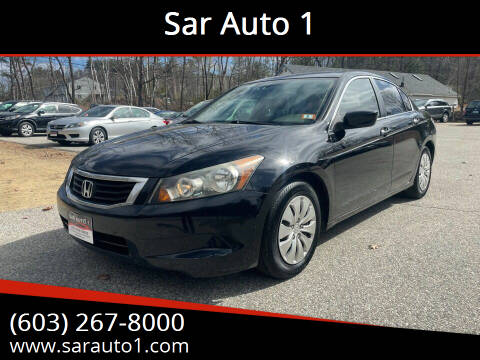 2010 Honda Accord for sale at Sar Auto 1 in Belmont NH