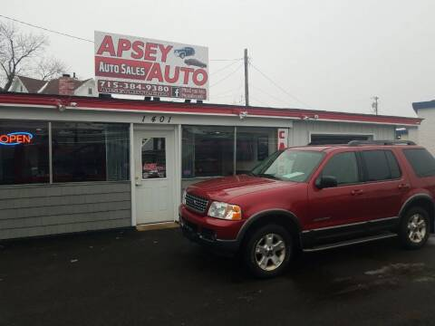 2005 Ford Explorer for sale at Apsey Auto in Marshfield WI